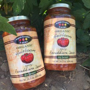 organic spicy pasta sauce